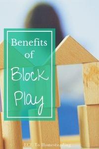 benefits of blocks