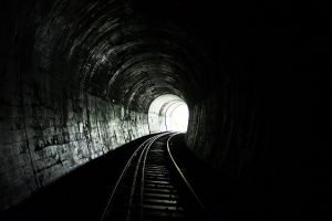 temper tantrum train tunnel