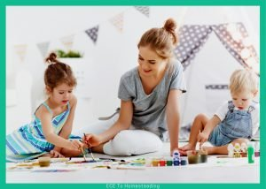 parent engaged in free play
