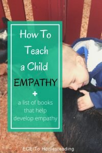 How to teach a child empathy