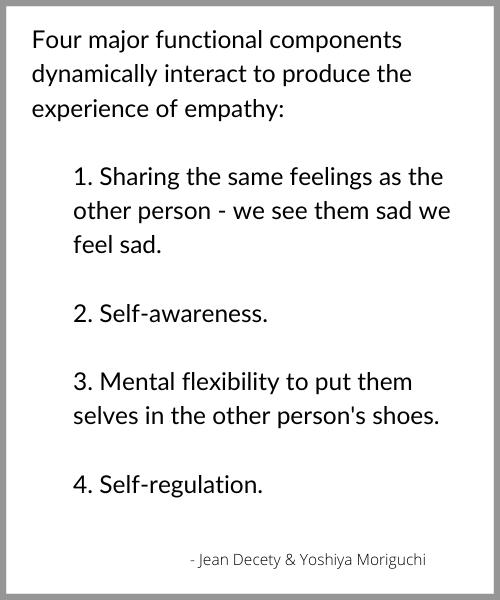 quote from Jean Decety & Yoshiya Moriguchi